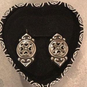 Brighton earrings. Comes in original Brighton tin.